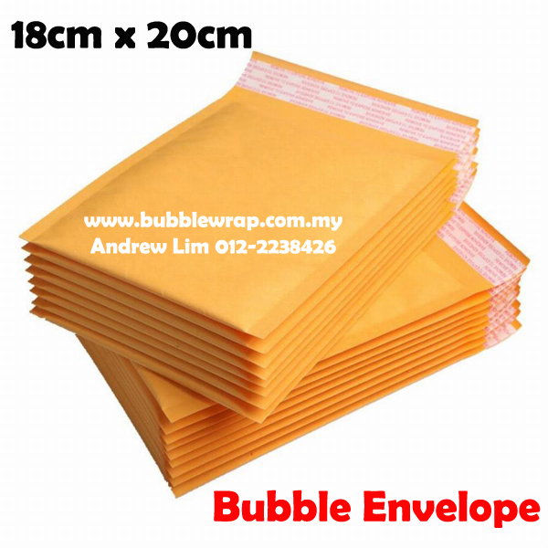 10pcs Bubble Wrap Envelope Mailer 1820